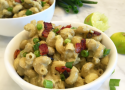 bacon avocado mac and cheese, avocado mac and cheese, mac and cheese recipe, avocado mac and cheese recipe